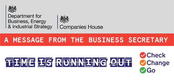 A message from the Business Secretary: One month to go until the transition period ends.